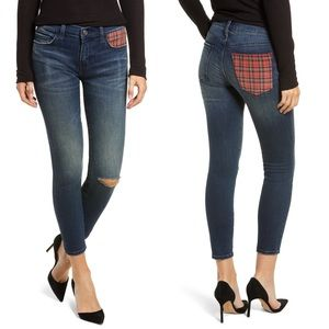 NWT Current/Elliott The Stiletto Skinny Jeans Sz25